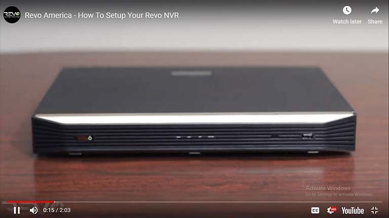 How To Setup Your Revo NVR
