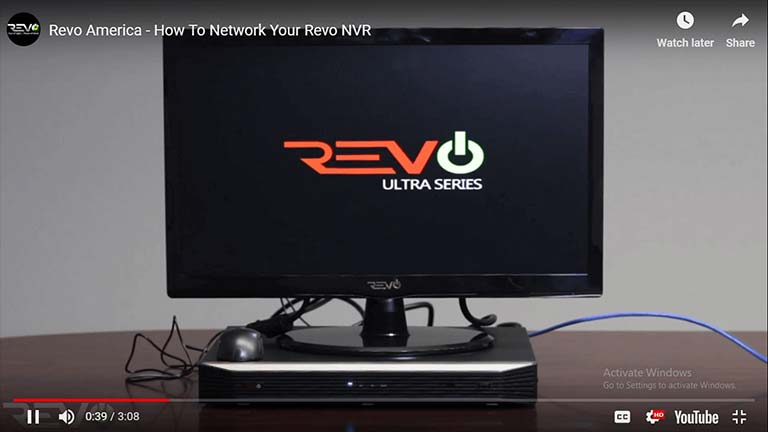 How To Network Your Revo NVR