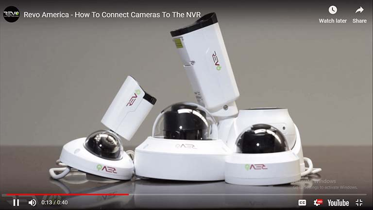 How To Connect Cameras To The NVR