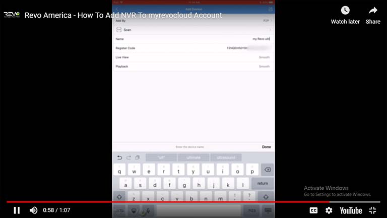 How To Add NVR To myrevocloud Account
